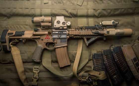 пистолет, винтовка, assault, оружие, ammo, tactical