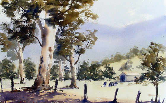 watercolor, step, good,