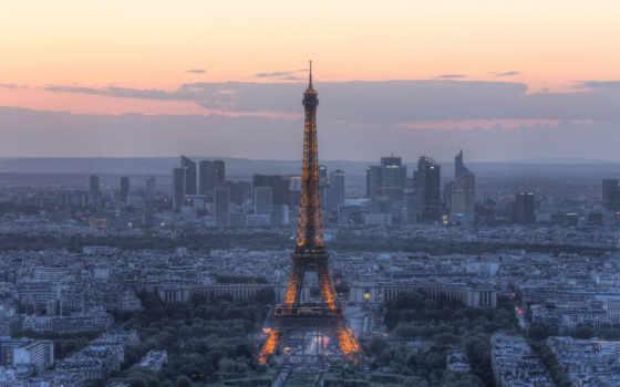 париж, eiffel, башня