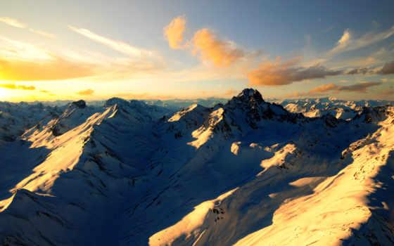природа, горы, альпы