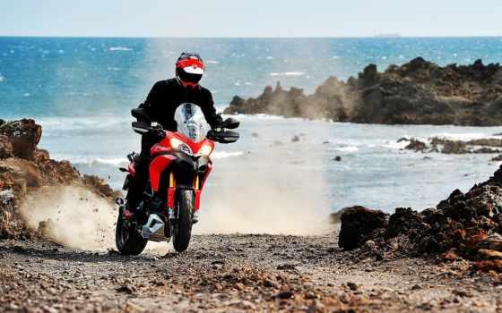 ducati, мотоцикл, multistrada