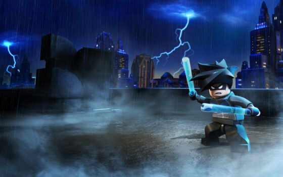 lego, batman, nightwing