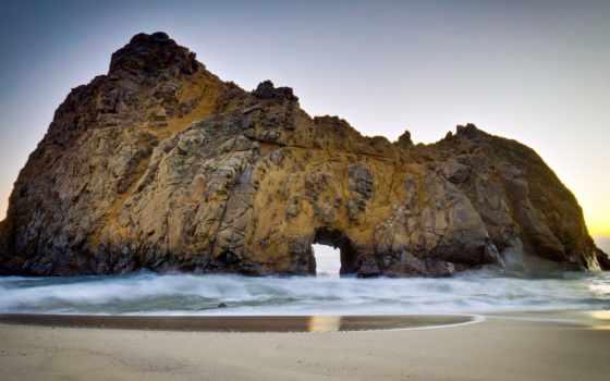 пляж, pfeiffer, природа