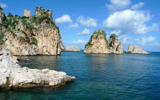 скалы, море, природа, разное, небо, oblaka, water, kenbutsu, просмотров, ukrainian,