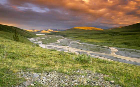 landscape, долина, природа, пейзажи -, обоях, добавлено, холмы, горы, лет, назад,