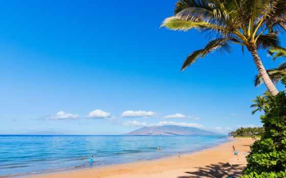 пляж, wailea, maui, condo, ekahi, бассейн, ocean, главное,