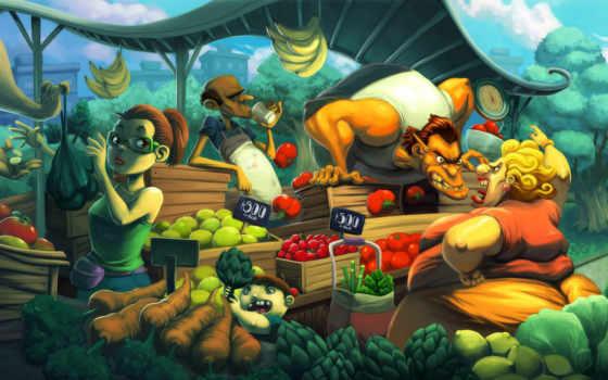 рынок, базар, картинка, овощи, характр, продавец, демотиваторы, images, просмотров, большой, кататься, ссора, diaz, karla, image,