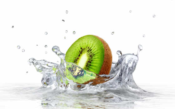 water, плод, splash, stock, splashing, photos, киви, into, fruits, free,