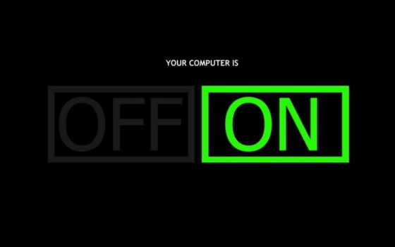 минимализм, компютер, computer, картинка, off,