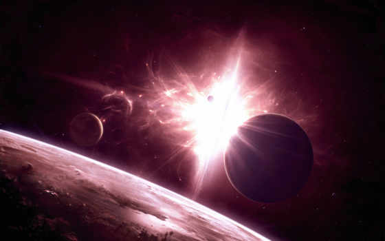 universe, space