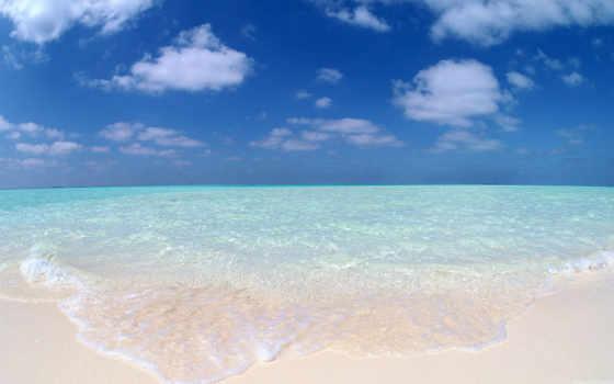 пляж, ocean, you