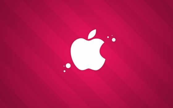 apple, розовый