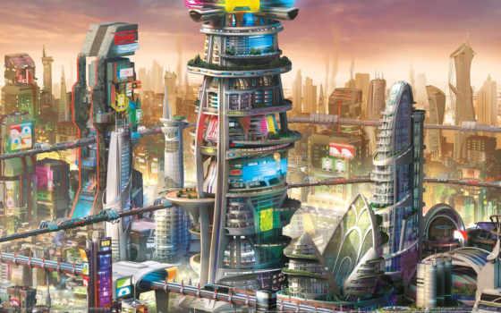 simcity, будущего, города