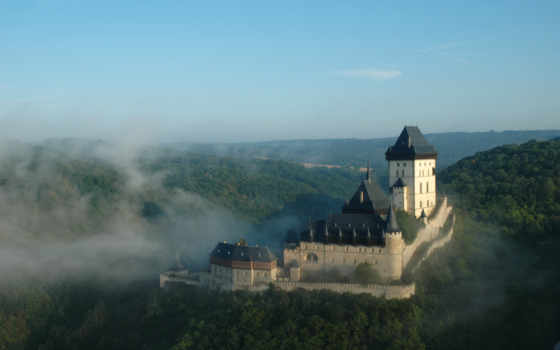 karlštejn, карлштейн, castle, hrad, чехия,