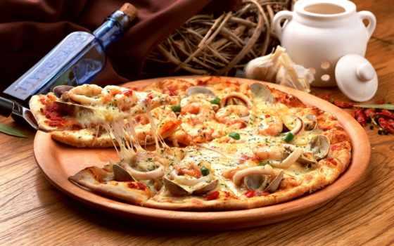 пицца, грибами, ветчиной, пиццы, рецепт, грибы, пиццу, вкусно, ветчина, testa,