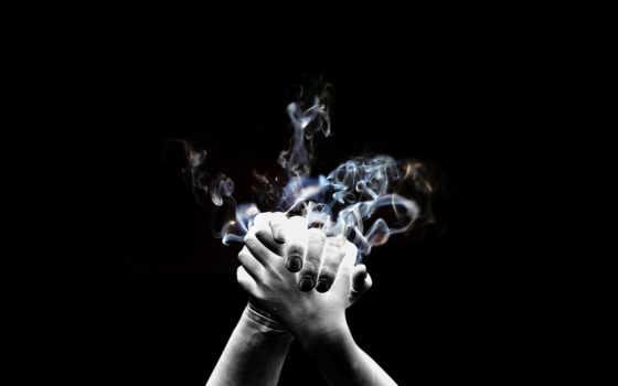 black, рукопожатие, огненное, white, вконтакте, именем, premonition,