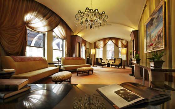 интерьер, гостиной, design