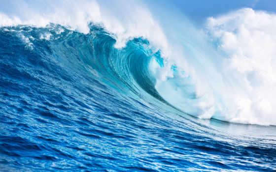 blue, ocean, divino, коллекция, фотообои, волна, white, большой, offer, магазин, интернет