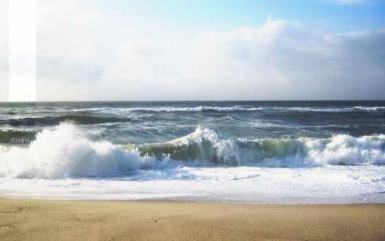 волна, море, png