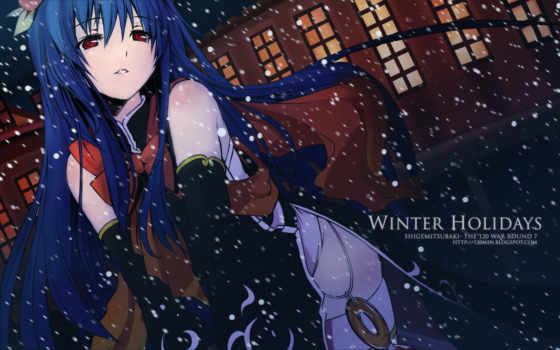 touhou, anime, kisuki, winter, holidays, hair, hinanawi, blue, tenshi, похудение, you, post, tags,