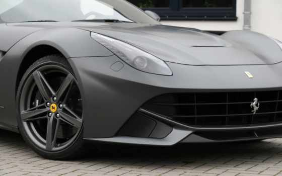 cam, ferrari, berlinetta, shaft, графитовый, matte, металлик,