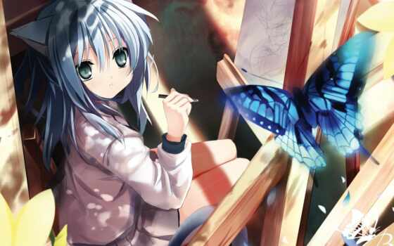anime, девушки Фон № 66929 разрешение 1600x1200