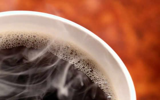 кофе, горячий, чашка, eда,