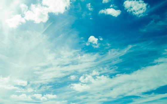 небо, oblaka, рисунки