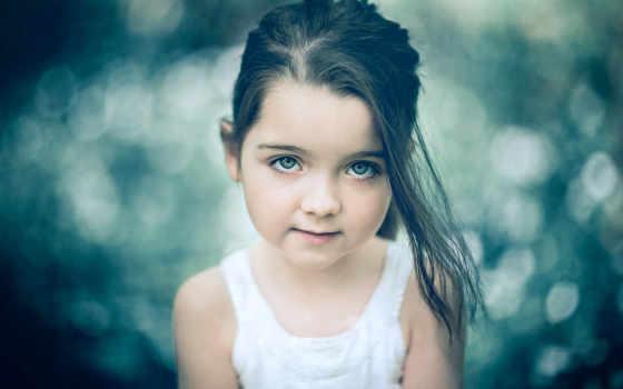 ребенок, девушка, funny, poppy, цветы, кролик, поцелуй, малыш,