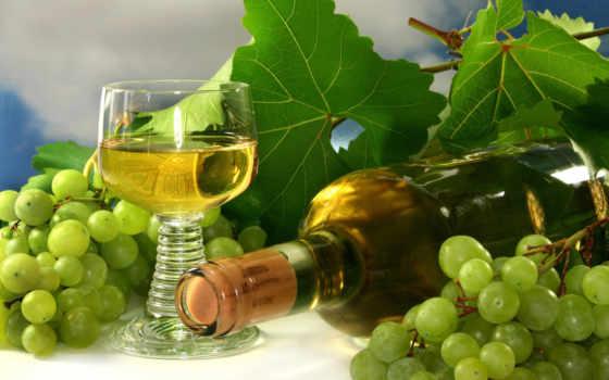 широкоформатные, вино, виноград, glass, бутылка, скопление,