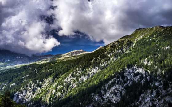 горы, красивые, rylik, графики, страница, природа, дизайна, мб,