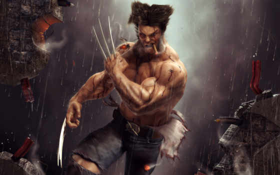 wolverine, ray, max, mental, photoshop, vray, studio, софт, used, hulk,