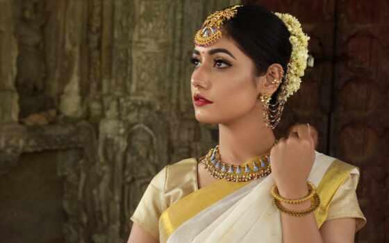 indian, женщина, saree, группа, девушка, jewellery, актриса, платье, yellow
