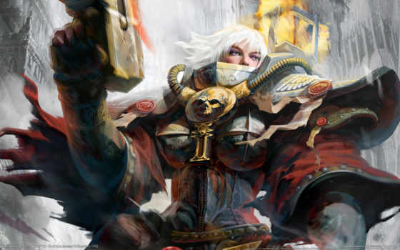 warhammer, games, war, dawn, игры, soulstorm, настроение, воительница, game, like,