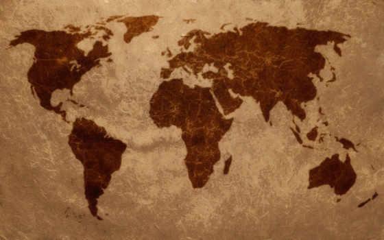 map, мира, земли