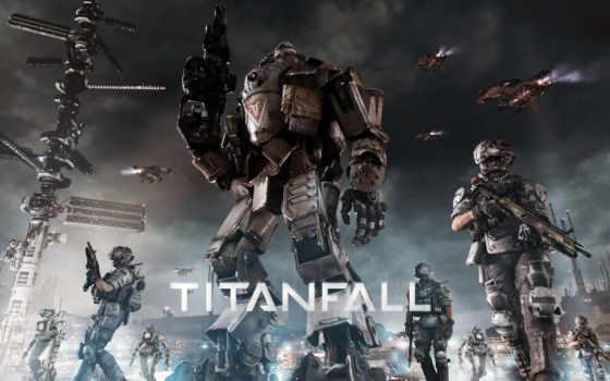 titanfall, атлас, бойцы, imc, военные, titanium, robot, картинка, меха,
