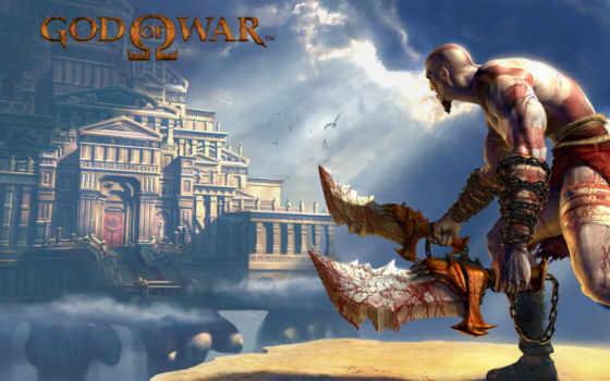 god, war, kratos Фон № 119435 разрешение 2880x1800