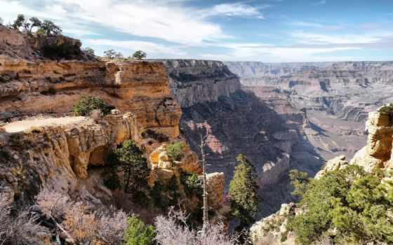grand, каньон, сша, пейзажи -, teton, arizona,