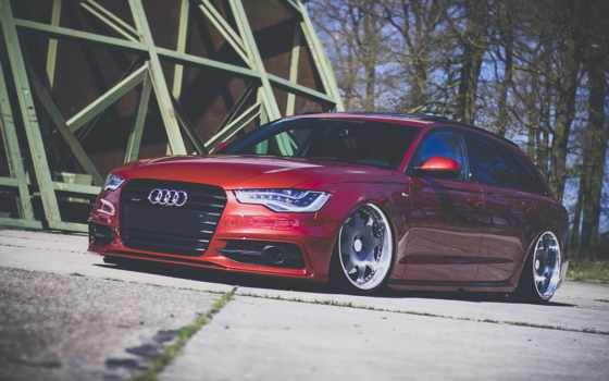 ауди, stance, avant, wagon, car, allroad, a6