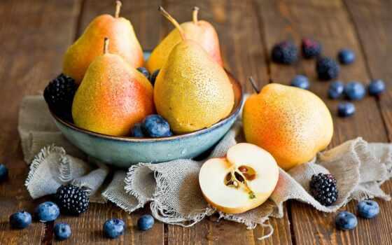 груша, ягода, плод, meal, спелый, water, столик, frutta, arte, черника
