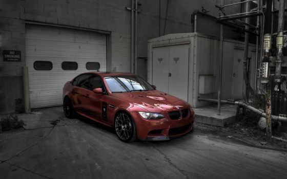 bmw, гараж, седан