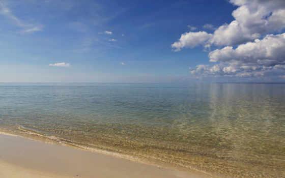 ocean, атлантический, florida, гладь, водная,