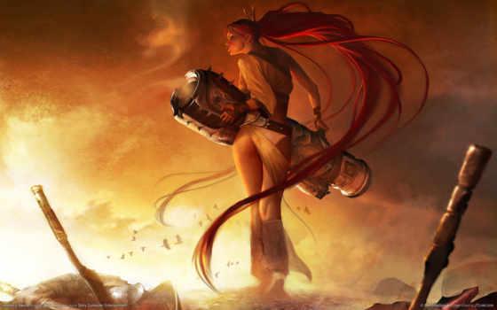 heavenly, меч, nariko, дек, только, браун, lady, пистолет, alessandro, игры,