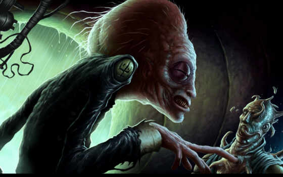 пришелец, инопланетянен