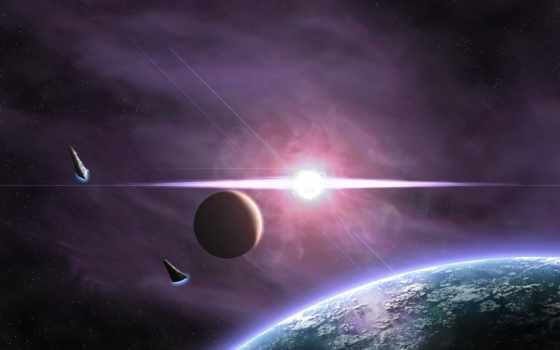 планета, сияние Фон № 24412 разрешение 2560x1600