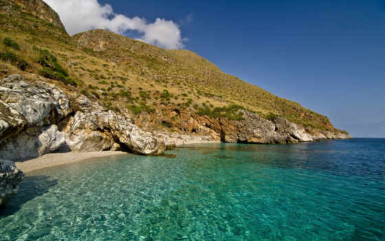 trapani, побережье, природа