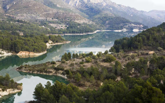 река, valencia, испания