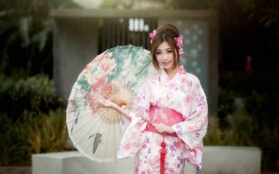 кимоно, разное, devushki, японская, девушка, мб, дек, торрент,