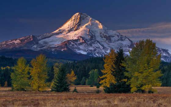 mountains, гора, природа, views, небо, trees, high, взгляд,