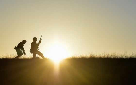 солдат, силуэт, images, free, soldiers, rifles, top,